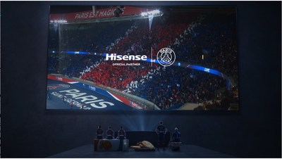 Hisense Official Partner Paris Saint-Germain