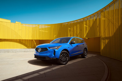 2022 Acura RDX Remains Atop the Podium with New Styling, More Features and Available Long Beach Blue Pearl Paint