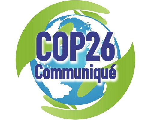The COP26 Communiqué – a challenge to world governments to step up their commitment to eliminate carbon emissions from the built environment.